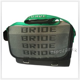 Wholesale Hi Quality Green Black TA KA TTA JDM Bride Racing Laptop Bag Racing Backpack NOT Original