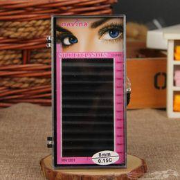 Wholesale-Free Shipping 5Trays Lot Makeup Eyelash Extension Artificial Cilios False Eye Lash Eyelashes