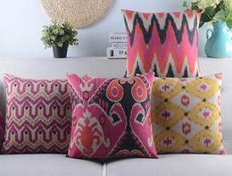 8 styles Geometric Style Custom Cushion Covers Throw Pillows Case Sofa Decorative Pillows Covers Party Decoration Gift for New House