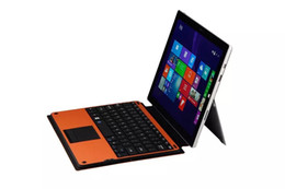 Wholesale Surface Pro3 wireless keyboard TH13 Bluetooth keyboard with Touchpad for Microsoft Surface Pro Tablet PC