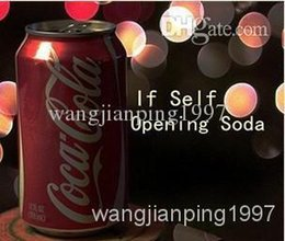 Wholesale Self Opening Soda Can by Ziv download close up magic teaching send by email accept