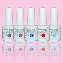 Wholesale 12PCS high quality soak off led uv gel polish nail gel lacquer varnish gelish