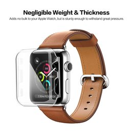 Stylish Soft protective Case for Apple iwatch serise 3 2 Apple Watch High-definition Transparent Watch Case 38 mm 42 mm