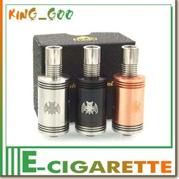 Wholesale tank bat rda atomizer rebuidable dripping atomizer EGO thread Airflow control VS monkey rda lancia r Gauntlet RDA storm V2 kid