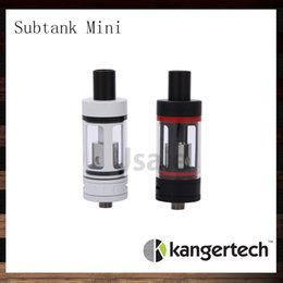 Wholesale Kanger SUBOX Mini atomiseur ml Kangertech Subtank Mini blanc noir OCC RDA Sub ohm réservoir Best Match Kbox Mini W Mod Original