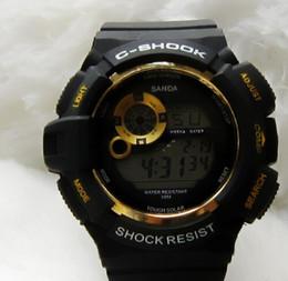 Mujer del estilo de reloj resistente al agua en Línea-mens Impermeable de la Goma de Silicona negro de la correa de la Moda de Cuarzo de la marca Nuevo estilo relojes de Pulsera de los Niños del reloj deportivo de Lujo de Relojes de las Mujeres