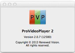 ProVideoPlayer 2 / 1.4.3 pour Mac prend en charge la dernière version audio et vidéo en direct 10.10.2 logiciel d'édition peut être mis en réseau sans flash retour à partir de vidéos modifier fournisseurs