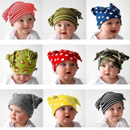 Newborn Baby Girl Boy Beanie Hat Toddler Adorable Hat Cute Cap Knitted Hat 9 Colors Drop Shipping BB-126