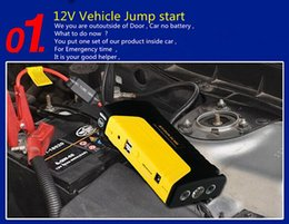 Wholesale Multi Function Car Battery Jump Starter Booster for Car Automobile Gasoline Diesel Engine Mobile Phone Laptop Power Bank