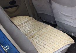 Cool And Refreshing Car Mats Mahjong Small Square Pad Piece Car Rear Seat Cushion Square Cushion Bamboo Summer Essential