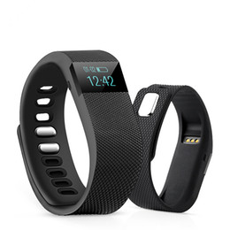 Wholesale New Fashionable TW64 FITBIT wristband Smart Band Fitness Activity Tracker Bluetooth Smartband Sport Bracelet colors for android ios