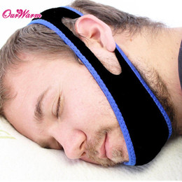 Wholesale Neoprene Anti Snore Chin Strap Snore Shield Snoring Belt Anti Apnea Jaw Sleep