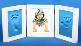 Wholesale Air Dry CLAY PHOTO FRAME KIT for Baby Child Creates Foot Hand Print New Design