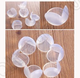 Wholesale 2500pcs Soft Safety Corner Table Edge Guard Protector Baby Safety silicone Protector Table Corner Edge Protection Cover KKA13