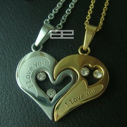 Set for Lover Couples Set Stainless Steel Necklace N116