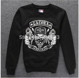 Wholesale New fashion autumn and winter Cotton League Baseball casual men s clothing hoodies long sleeve pullover hiphop sweatshirt