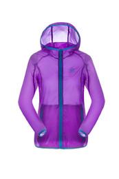 Gros-Été Hommes Femmes Sport pluie Vent manteau protecteur UV étanche peau ultra-mince Vestes Cycling Jersey Veste de course WP-HHB024 à partir de veste de cyclisme mince imperméable fabricateur
