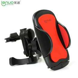 Wholesale 2016 New Hot selling Car air conditioning outlet vent phone holder General Motors vehicle frame two colors