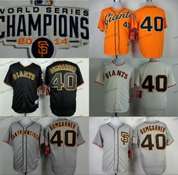 Wholesale san francisco madison bumgarner Baseball Jersey Cheap Rugby Jerseys Authentic Stitched Size