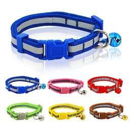 1.0cm Width Nylon Cute Reflective Printed Dog Puppy Cat Collar Variety of Colors Pet Products