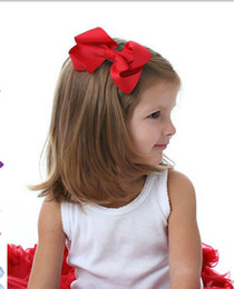 Wholesale 10 OFF quot Inch baby girl Handmade Big ribbon Hair Bow Clip Pin Alligator Clips Accessories children hairclip hair accessories