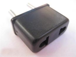 500pcs lot EU Plug,Universal US to EU AC Power Plug,USA To Euro Plug Travel Converter Adapter (DY)