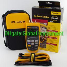 Fluke 922 HVAC Pressure Airflow Meter Micromanometer Tester F922