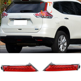 Wholesale New LED TailLights Column Lamp for Nissan X trail Rouge Rear end Tail Brake Parking Lights Rearing Warning Light