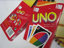 UNO Poker Card Standard Edition Family Fun Entermainment Board Game Kids Funny Puzzle Game free shipping in stock