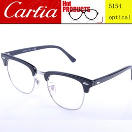 Wholesale Hot optical glasses sliver frame mm mm brand designer glasses frame unisex for men or women