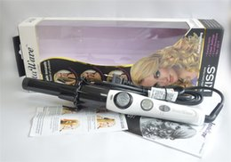 Wholesale 2015 Newest Kiss InstaWave Automatic Curler hair automatically rotate vertical curlers ceramic hair curlers automatically rotate around