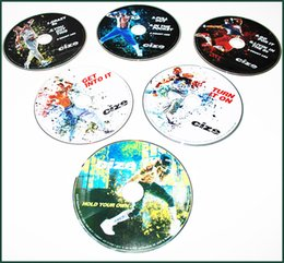 Wholesale C i z e DVD Dance Workout Fitness the End of Exercise DVD Men Weight Loss DVDs Set Body Building Fitness C i z e Video Keep Fit Slim DVD