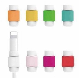 Wholesale Original From Taiwan USB Cable earphones protector colorful for Apple iPhone Plus s s6 note