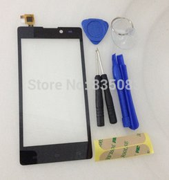 Wholesale quot NEW Arrival Archos Neon Capactive Touch screen Digitizer front glass replacement Black