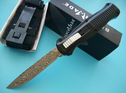 Wholesale Benchmade Gold Class Infidel O the front Auto Knife Infidel Tactical knife knives with nylon sheath New in original box