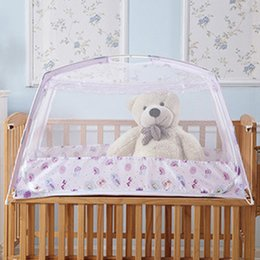 Wholesale H amp L Pack Folding Cot Mosquito Net Baby Bedding Article Single Opening