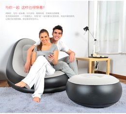 Wholesale Lazy sofa single tatami bed Double creative chair The bedroom chairs Small inflatable sofa