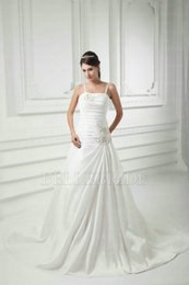 Wholesale 2015 Spring and customize Satin tape white fresh holy Wedding Dress Prom Dress cocktail factory direct