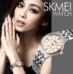 New Fashion Simple Style Ladies Quartz Wrist Watch Water Resist 30m Stainless Steel Strap Sport Watch 1133