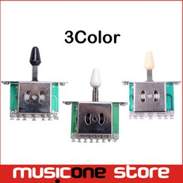 Wholesale 5 Way Selector Electric Guitar Pickup Switches Guitar Toggle Lever Switches Guitar Parts MU0218