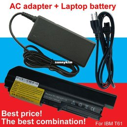 Wholesale BEST AC Adapter battery For IBM ThinkPad U3196 U3198 ASM T5265 R400 T400 R61 R61i T61 T61p T61u quot widescreen