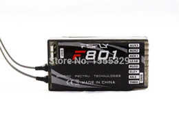 Wholesale 5pcs GHz CH F801 Receiver Digital Spread Modulation X Receiver Support PPM DX8 JR DX7 Radio for Quadcopter Helicopter