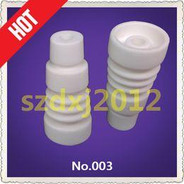 Wholesale honey comb glass bong Titanium nail and ceramic Domeless Nail Domeless Ceramic Nail mm mm Male Product number XLR003