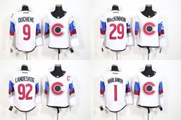 Wholesale Ice hockey Colorado Avalanche Nathan MacKinnon Semyon Varlamov Joe Sakic Gabriel Landeskog Matt Duchene White Stadium Series Jerseys