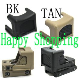 Wholesale Anti Reflection Alu Kill flash Protective Cover For Red Dot Sight Black Sand