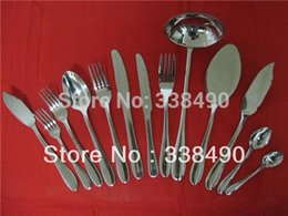 Wholesale High quality Flatware with Mirror Dinnerware Best for Hotel Various Fork Knife Spoon Made of S S Flatware on Sale CT