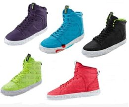 size 37 38 39 40 Woman Sports Shoes fitness shoes high cut Street Classic man shoes blue green black purple red Free shipping