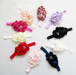 Europe et le nouveau spot de gros enfants bourgeon floral bébé accessoires pour cheveux de bébé bandeau coiffure accessoires cheveux à partir de nouveaux bourgeons floraux fabricateur