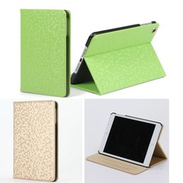 Wholesale New cool Luxury Glitter Diamond Geometric Bling stand Leather Tablet Shiny colors cover for ipad pad2 ipad3 case