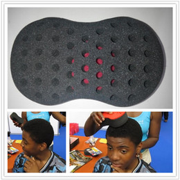 Wholesale Magic Twist Hair Brush Sponge starts dreads and adds texture to an afro styling tools hair coil curler